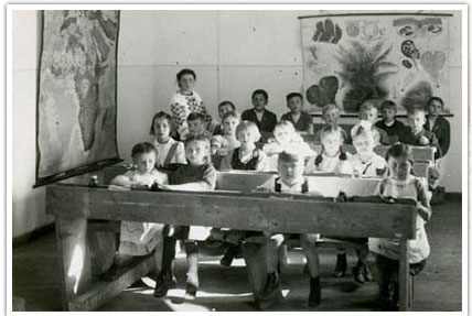 07. Children in a camp school