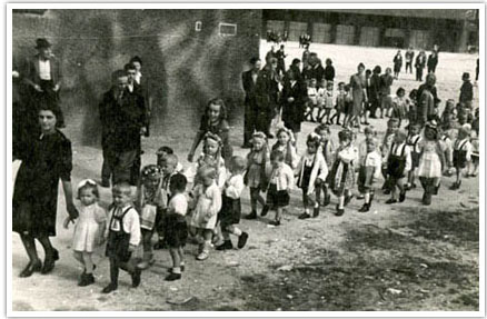 25. Children going to school